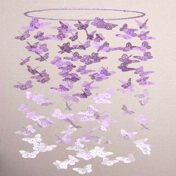 25+ Easy DIYs to Make a Butterfly Mobile | Guide Patterns