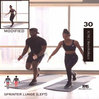 Cardio Workout at Home - HIIT with modifications