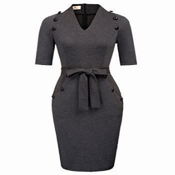 GRACE KARIN Summer Casual Business Wear Prom Tight Dress for