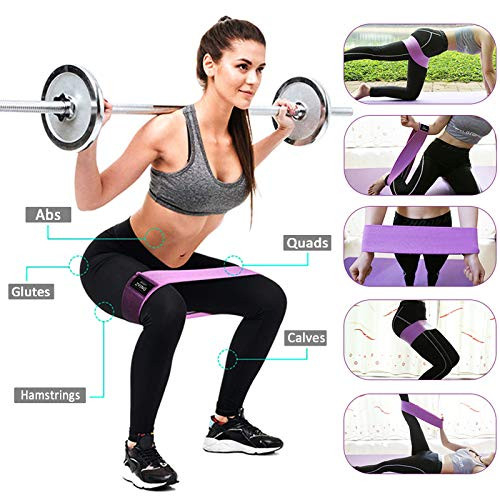 Resistance Bands for Legs and Butt, Exercise Loops for Women